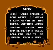 Story Screen - First Half - Super Mario USA