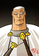 Barristan Selmy by The Mico