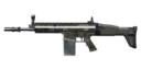 SCAR-H Pick-Up Icon BOII