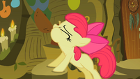 Apple Bloom drinking the cure S2E6