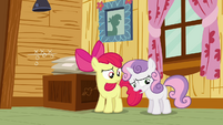 Sweetie Belle 'I wanna go' S3E06