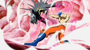 Toriko using Kugi Punch on Starjun GTRobo
