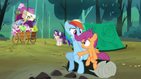 Scootaloo &#39;No way&#39; S3E6