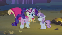 Rarity don&#39;t worry S3E6