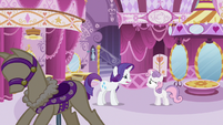 Rarity weird face S3E6