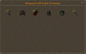 Ranging Guild Ticket Exchange stock
