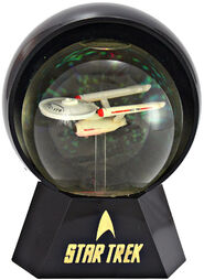 Willitts Designs USS Enterprise Lighted Star Globe