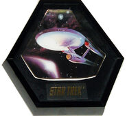 Willitts Designs USS Enterprise porcelain plaque