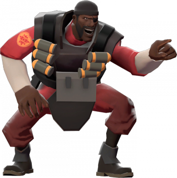 Demoman taunt laugh