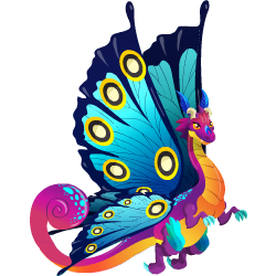 Dragón Mariposa - Wiki Dragon City