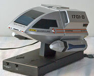 TeleMania Magellan shuttlecraft clock-radio