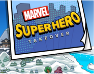 Marvel superhero takeover