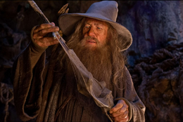 Gandalf and Glamdring