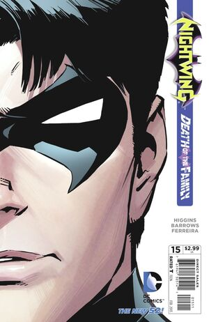 Cubierta para Nightwing # 15