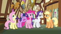 Rarity &amp; Fluttershy tell us why S3E7