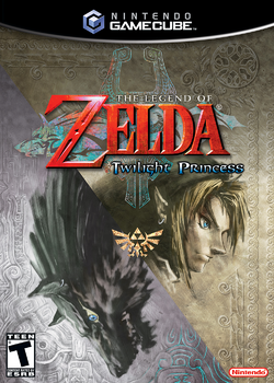 The Legend of Zelda Twilight Princess Portada (GameCube)