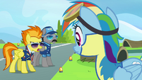Rainbow hearing Spitfire S3E07