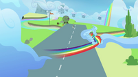 Rainbow flying fast S3E07