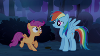 Scootaloo &#39;not-scary-at-all forest&#39; S3E06