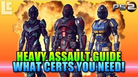Heavy Assault Certification Guide (Planetside 2 Gameplay Commentary)