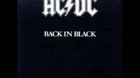 """Shoot to Thrill"" by AC DC-0"