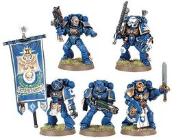Space-marine-command-squad