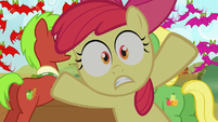 Apple Bloom Everypony jump out S03E08