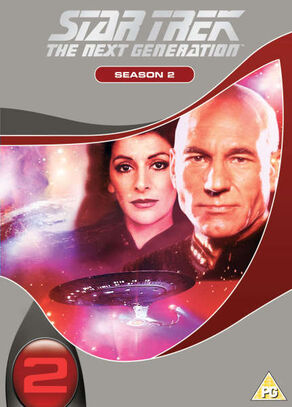 TNG Season 2 DVD-Region 2 new
