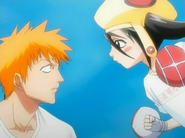 Ururu attacks Ichigo
