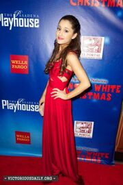 Ariana Grande at Opening Night of A Snow White Christmas -09-560x841
