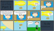 Poptropicans on a Train Part 1