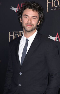 Aidan Turner NY Premiere