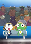 KERORO AND TAMAMA