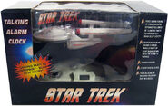 Top Banana USS Enterprise Talking Alarm Clock