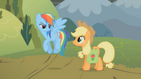 Applejack &quot;we&#39;ll go up together&quot; S01E07