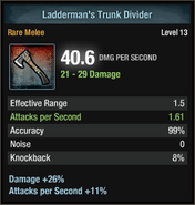 Ladderman's trunk divider