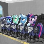 An army of pony by artist-lunarapologist