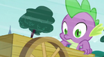 Spike thinking what to do S3E09