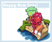 Happy new year cozy together by blindsnipefreelancer-d5pvu89