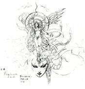 Goddess ffvi concept art