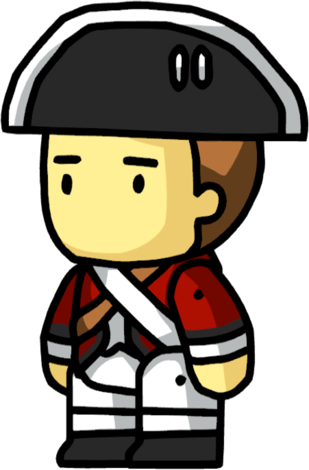 Drawing Scribblenauts : Redcoat scribblenauts wiki
