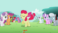 Apple Bloom &quot;Now, time for advanced moves!&quot; S2E6.png
