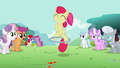 Apple Bloom using the hoop with one hoof S2E6.png