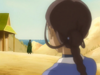 Katara finds Haru's mother
