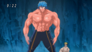 Toriko shivering