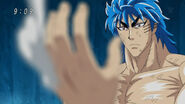 Toriko losing a finger