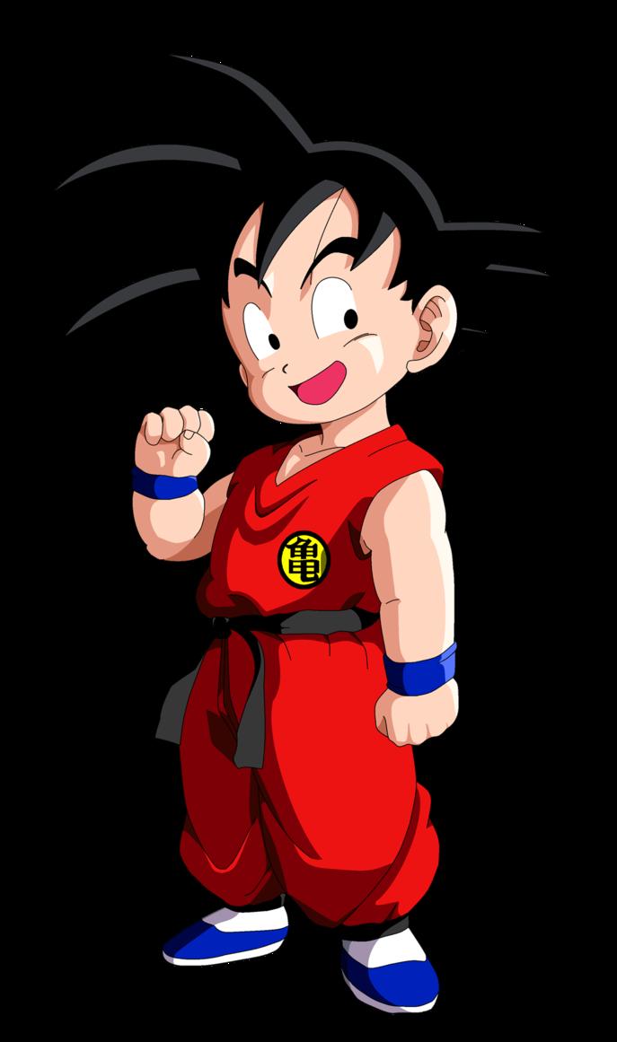 Dragon Ball Z Goku as a Kid