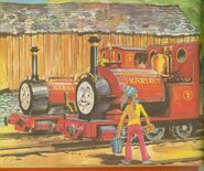 Skarloey,Rheneas,andNancyinanannual