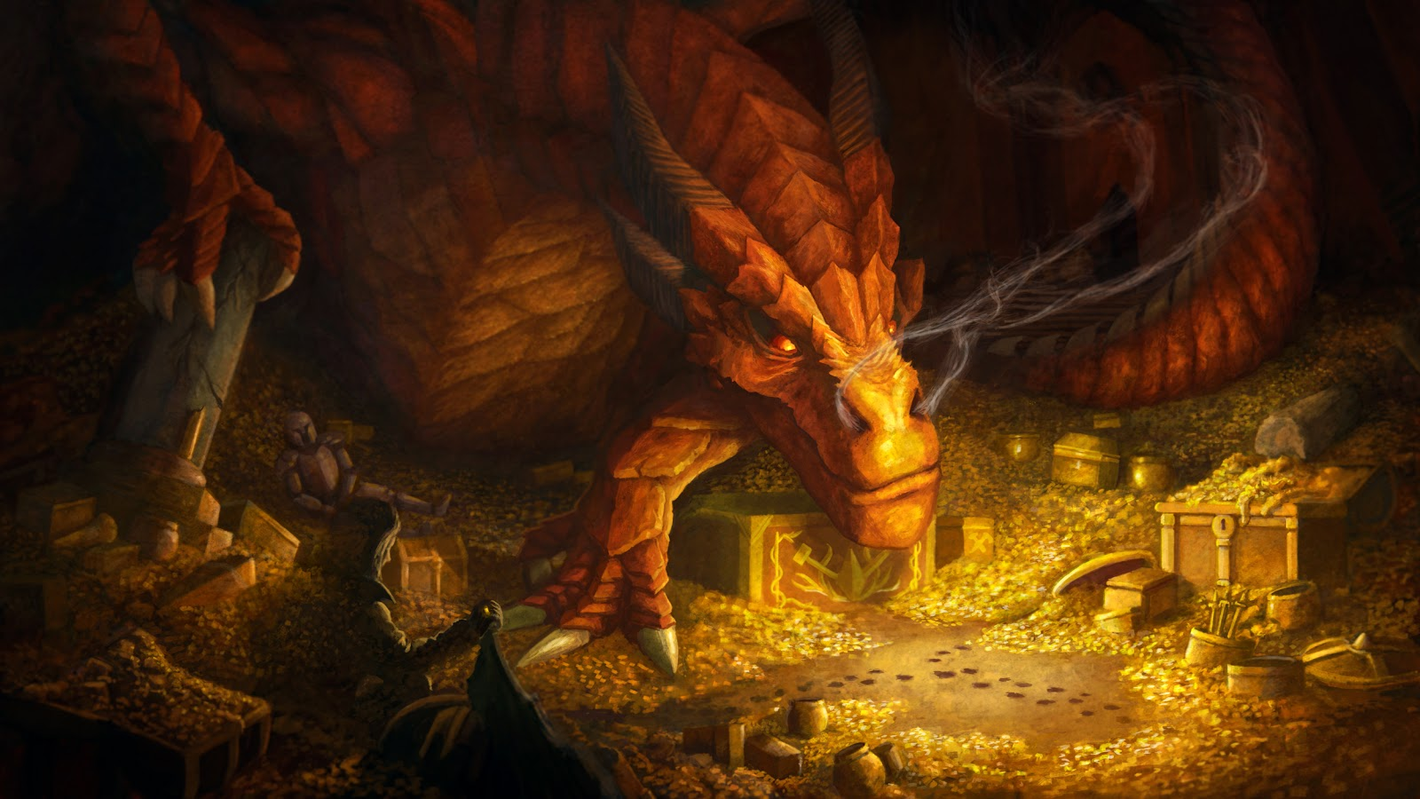 smaug the dragon hobbit - photo #32