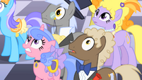 Nobleponies watch pillars topple S01E26